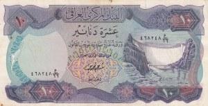Iraq, 10 Dinars, 1973, XF, p65