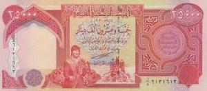 Iraq, 25000 Dinars, 2003, UNC, p96a