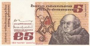 Ireland, 5 Pounds, 1976, UNC, p71b