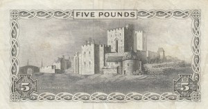 Isle of Man, 5 Pounds, 1972, XF, p30b