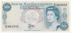 Isle of Man, 50 New Pence, 1979, UNC, p33a