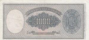 Italia, 1000 Lire, 1947, XF, p83