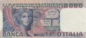 Italia, 50000 Lire, 1977, XF, p107a