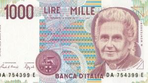 Italy, 1000 Lire, 1990, UNC, p114