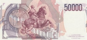 Italy, 50.000 lire, 1992, UNC, p116a