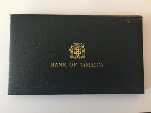 Jamaica, 1 Dollar, 2 Dollars, 5 Dollars and 10 Dollars, 1977, UNC, FOLDER