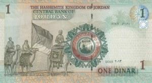 Jordan, 1 Dinar, 2013, UNC, p34g