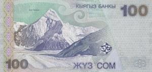 Kyrgyzstan, 100 Som, 2002, UNC, p21