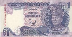Malaysia, 1 Ringgit, 1986-1989, UNC, p27