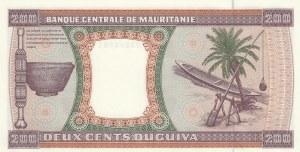 Mauritania, 200 Ouguiya, 1996, UNC, p4h