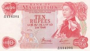Mauritius, 10 Rupees, 1967, UNC, p31c