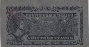 Mexico, 20 Centavos, 1914, AUNC