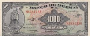 Mexico, 1000 Pesos, 1977, UNC, p52t