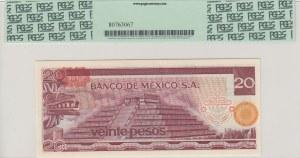 Mexıco, 20 Pesos, 1977, UNC, p64d