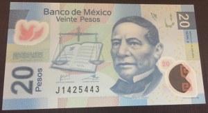 Mexico, 20 Pesos, 2013, UNC, p122