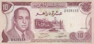Morocco, 10 Dirhams, 1970, XF, p57a