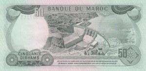 Morocco, 50 Dirhams, 1970, UNC, p58a