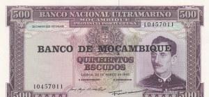 Mozambique, 500 Escudos, 1967, UNC, p110