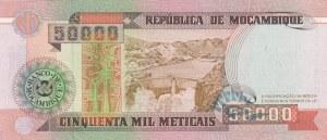 Mozambique, 50.000 Meticais, 1993, UNC, p138