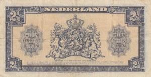 Netherlands, 2,5 Gulden, 1945, VF, p71