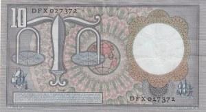 Netherlands, 10 Gulden, 1953, XF, p85
