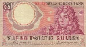 Netherlands, 25 Gulden, 1955, VF, p87