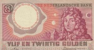 Netherlands, 25 Gulden, 1955, XF,p87