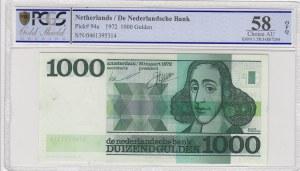 Netherlands, 1000 Gulden, 1972, AUNC, p94a