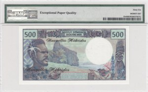 New Hebrides, 500 Francs, 1979, UNC, p19c
