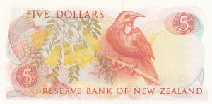 New Zealand, 5 Dollars, 1985, UNC (-), p171b