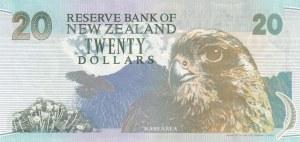 New Zeland, 20 Dollars, 1992, XF, p179