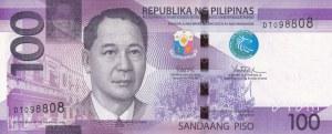 Philippines, 100 Piso, 2017, UNC, p208