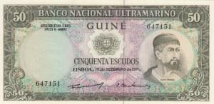 Portoguese Guinea, 50 Escudos, 1971, UNC, p44a