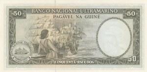 Portuguese Guinea, 50 Escudos, 1971, UNC, p44a