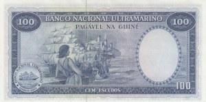 Portuguese Guinea, 100 Escudos, 1971, UNC, p45a