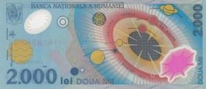 Romania, 2000 Lei, 1999, UNC, p111b