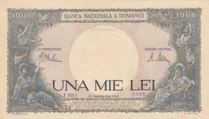 Romania, 1000 Lei, 1941, UNC, p52