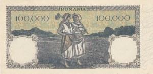 Romania, 100.000 Lei, 1947, UNC, p58