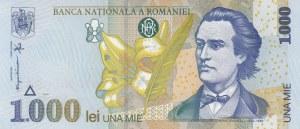 Romania, 1000 Lei, 1998, UNC, p106