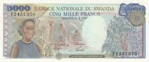 Rwanda, 5000 Francs, 1988, UNC, p22