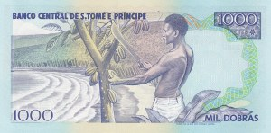Saint Thomas and Prince, 1000 Dobras, 1993, UNC, p64