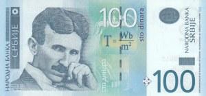 Serbia, 100 Dinara, 2013, UNC, p57