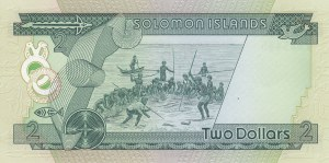 Solomon Islands, 2 Dollars, 1977, UNC, p5a