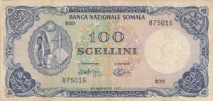Somalia, 100 Shillings, 1971, XF, p16a