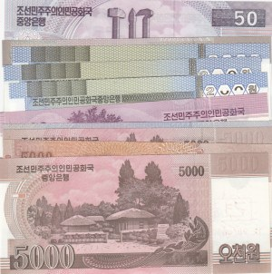 Korea, 10 Pieces UNC Banknotes