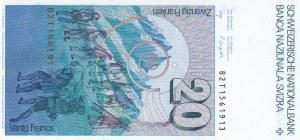 Switzerland, 20 Francs, 1982, UNC, p55