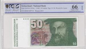 Switzerland, 50 Franken, 1985, UNC, p56f