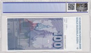 Switzerland, 100 Francs, 1988, AUNC, p57i