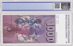 Switzerland, 1000 Franken, 1987, AUNC, p59d