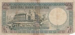 Syria, 100 Pound, 1958, POOR, p91a